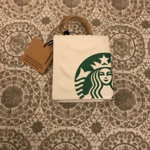 Starbucks ceramic tote
